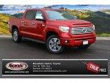 2015 Barcelona Red Metallic Toyota Tundra Platinum CrewMax 4x4 #99987601