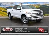 2015 Super White Toyota Tundra 1794 Edition CrewMax 4x4 #99987596