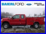 2015 Vermillion Red Ford F250 Super Duty XL Super Cab 4x4 Utility #99987740