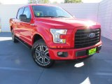 2015 Race Red Ford F150 XLT SuperCrew 4x4 #99987917