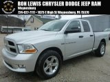 2012 Bright Silver Metallic Dodge Ram 1500 ST Quad Cab 4x4 #99987909