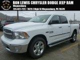 2015 Bright White Ram 1500 Big Horn Crew Cab 4x4 #99987901