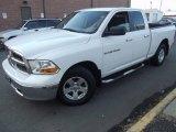 2011 Bright White Dodge Ram 1500 SLT Quad Cab 4x4 #100027948
