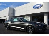 2015 Magnetic Metallic Ford Mustang V6 Coupe #100027863