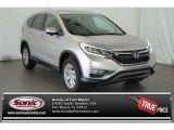 2015 Alabaster Silver Metallic Honda CR-V EX #100027714