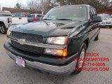 2005 Dark Green Metallic Chevrolet Silverado 1500 LS Crew Cab #100028080