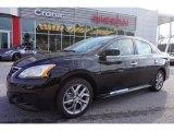 2014 Super Black Nissan Sentra SR #100028005