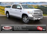 2015 Super White Toyota Tundra 1794 Edition CrewMax 4x4 #100027702