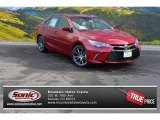 2015 Ruby Flare Pearl Toyota Camry XSE V6 #100027698