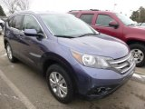2012 Twilight Blue Metallic Honda CR-V EX-L 4WD #100028200