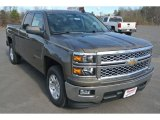 2015 Brownstone Metallic Chevrolet Silverado 1500 LT Double Cab #100028135