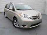 2015 Toyota Sienna LE Data, Info and Specs