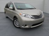 2015 Toyota Sienna XLE Data, Info and Specs