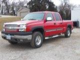 2003 Victory Red Chevrolet Silverado 2500HD LT Crew Cab 4x4 #100070110