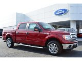 2014 Ruby Red Ford F150 XLT SuperCrew #100069768