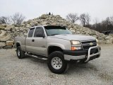 2005 Chevrolet Silverado 2500HD LS Extended Cab 4x4 Data, Info and Specs