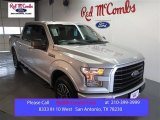 2015 Ingot Silver Metallic Ford F150 XLT SuperCrew #100069660