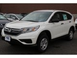 2015 White Diamond Pearl Honda CR-V LX AWD #100070077