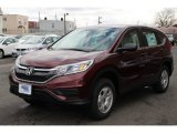 2015 Basque Red Pearl II Honda CR-V LX AWD #100070074