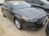 2015 Magnetic Metallic Ford Fusion SE #100103693