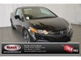 2015 Crystal Black Pearl Honda Civic EX Coupe #100104033