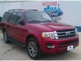 2015 Ruby Red Metallic Ford Expedition XLT #100103683