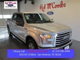 2015 Ingot Silver Metallic Ford F150 XLT SuperCrew #100103678