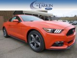 2015 Competition Orange Ford Mustang V6 Coupe #100104059