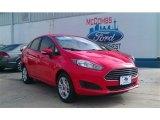 2015 Race Red Ford Fiesta SE Sedan #100127769