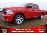 2015 Flame Red Ram 1500 Express Crew Cab #100127806