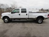 2005 Oxford White Ford F350 Super Duty Lariat Crew Cab 4x4 Dually #100128085