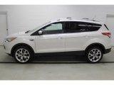 2015 White Platinum Metallic Tri-Coat Ford Escape Titanium 4WD #100127640