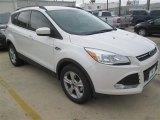 2015 White Platinum Metallic Tri-Coat Ford Escape SE #100157352