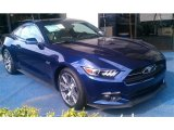 2015 Ford Mustang 50th Anniversary Kona Blue Metallic