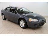 2003 Steel Blue Pearlcoat Chrysler Sebring LX Sedan #100157672