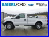 2015 Oxford White Ford F250 Super Duty XL Regular Cab 4x4 #100157326