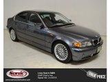 2002 Steel Grey Metallic BMW 3 Series 330i Sedan #100190822
