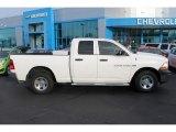 2011 Bright White Dodge Ram 1500 ST Quad Cab 4x4 #100190735
