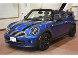 2014 Ice Blue Mini Cooper Convertible #100190731