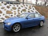 2015 Estoril Blue BMW 3 Series 335i xDrive Sedan #100190885