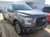 2015 Magnetic Metallic Ford F150 XLT SuperCrew #100190750