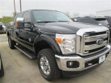 2015 Tuxedo Black Ford F250 Super Duty XLT Crew Cab 4x4 #100190749