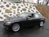 2015 Jet Black BMW 3 Series 328i xDrive Sedan #100190877