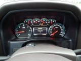 2015 Chevrolet Silverado 1500 LTZ Double Cab 4x4 Gauges
