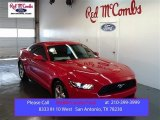 2015 Race Red Ford Mustang EcoBoost Coupe #100204031