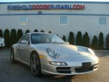 2008 Arctic Silver Metallic Porsche 911 Carrera S Cabriolet #100208317
