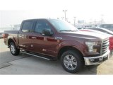 2015 Bronze Fire Metallic Ford F150 XLT SuperCrew #100208077