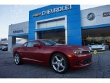 2015 Crystal Red Tintcoat Chevrolet Camaro SS/RS Coupe #100208200