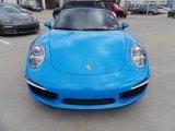 2013 Porsche 911 Blue Paint to Sample
