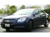 2008 Imperial Blue Metallic Chevrolet Malibu LT Sedan #10015420
